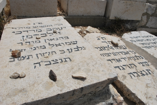 שמואל מוני זילבמרן הקבר 3