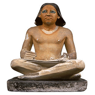 ancient writer egypt 1