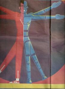 man plus 2 by yonatan poper