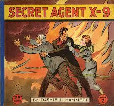 secret agent x 9 hammet