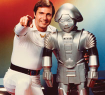 buck rogers and robot