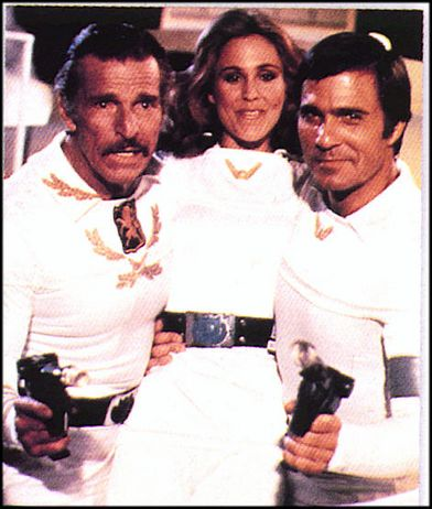 Buster-Crabbe-Erin-Gray-and-Gil-Gerard