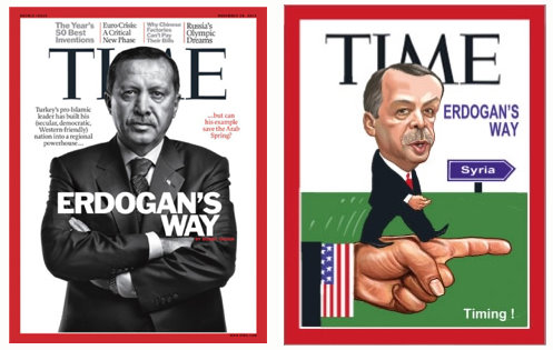 Image result for erdogan magazine cover