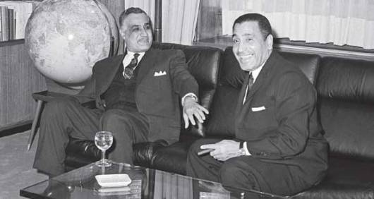 Image result for Mohamed Hassanein Heikal and nazer